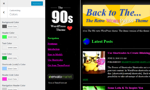 Back to the 90s!
