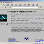 Netscape Browser with HTML5