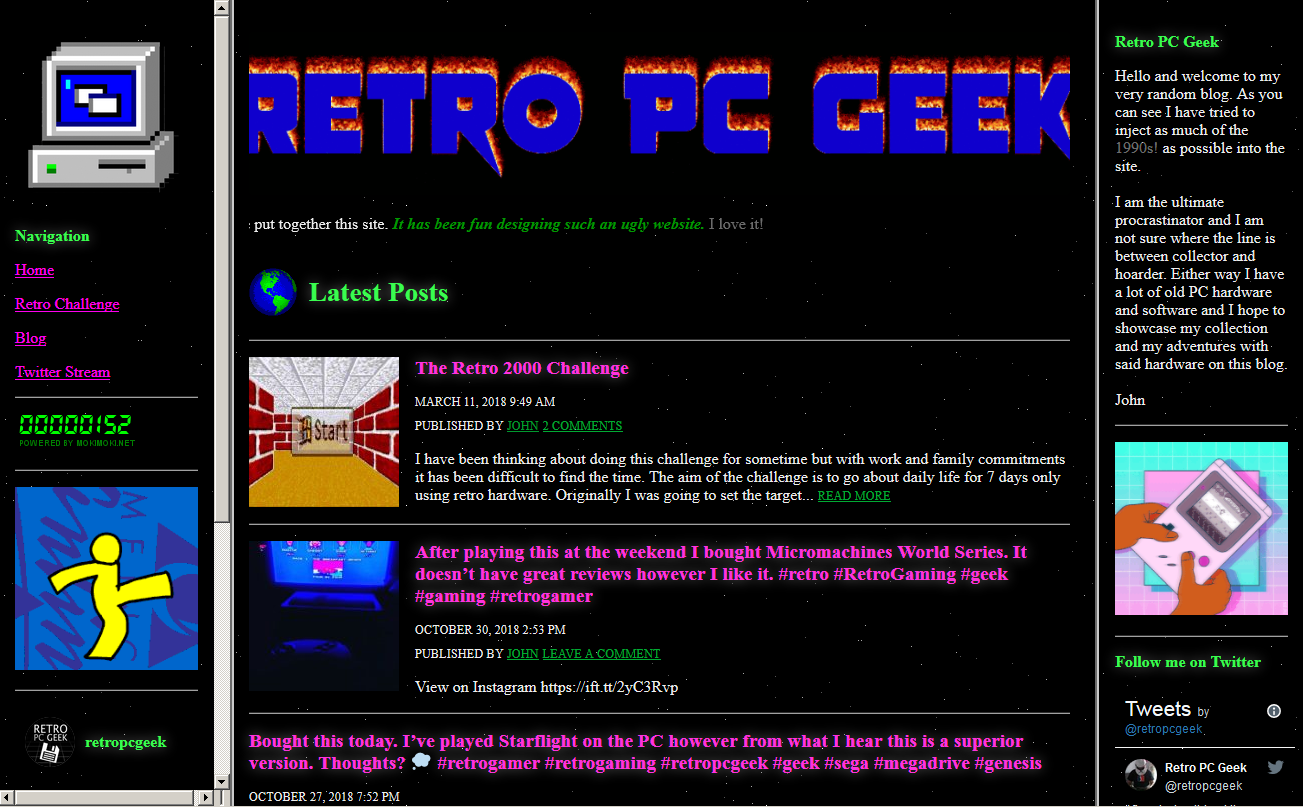 Retro PC 90s Theme