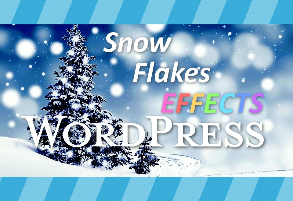 Snowflakes on your site