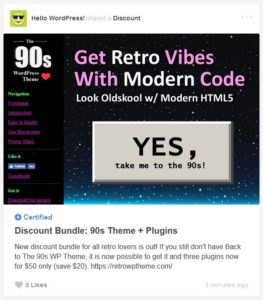 WordPress Retro Bundle