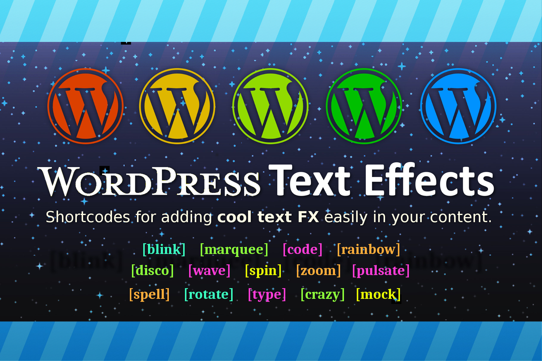 WP Text Effects Plugin
